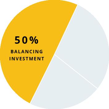 SIV3 - Balancing Investment Pie Chart